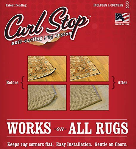 stop rug corners curling up curl stop anti curling rug system pack of 4 corners buy in uae kitchen products in