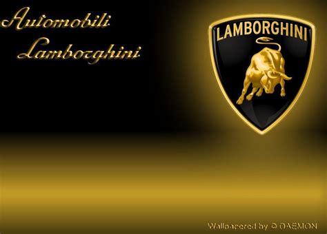 Lamborghini Sign Wallpaper Lamborghini Logo Wallpapers Wallpaper Cave