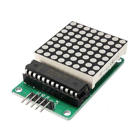 Max7219 Led Dot Matrix 4 8x8 88 4 In 1 Fc 16 Fc16 8 8 dot led matrix module mcu led display module