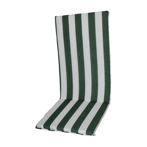 cuscino sedia cuscino per sedia bianco verde