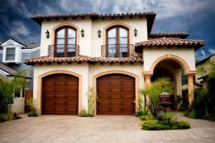 Spanish Style Garage Carriage Style Garage Doors