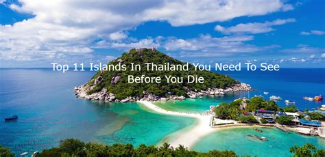 best island 11 best islands in thailand you need to see before you die