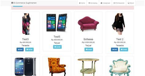tutorial membuat web toko online dengan php 25 tutorial dan source code toko online ecommerce