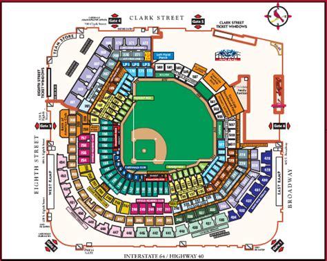 detailed seat map of busch stadium busch stadium seating chart brokeasshome