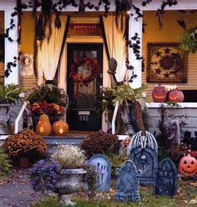 Halloween Decorations For Front Porch Halloween Front Porches Loving Life