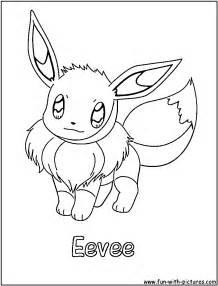 eevee pokemon disegno da colorare disegni da colorare e