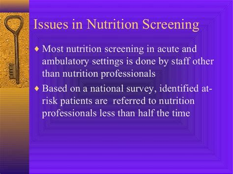 Mba And Ms In Nutrition by Screening Nutrition Care Process