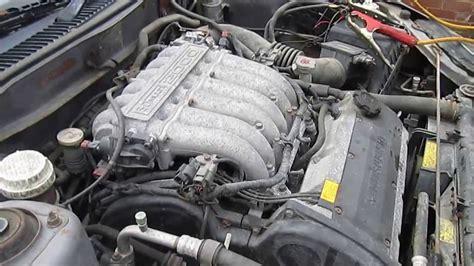 mitsubishi fto engine mitsubishi fto 2lt v6 manual engine youtube