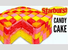 STARBURST CAKE - How To Make Starbursts Candy Dessert Cake ... Now And Later Candy Flavors