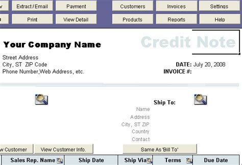 Credit Note Template Myob Imageofblankcreditnote Search Results Calendar 2015