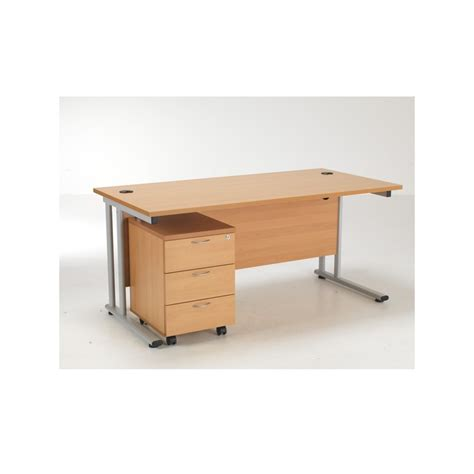 Rectangular Office Desk Rectangular Office Desk Desk 3 Drawer Pedestal Bundle Deal