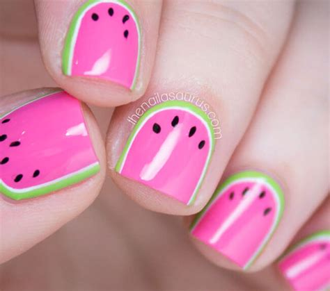 Watermelon Designs For Nails