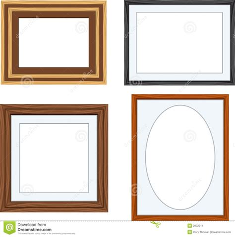 different picture frames frames stock vector image of clip white image square