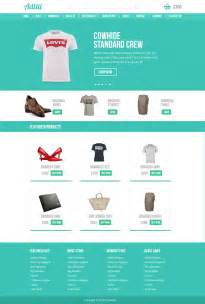 ecomerce templates premium ecommerce website template psd for free