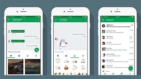 what is hangouts on android updates hangouts on ios but not android yet gizmodo australia