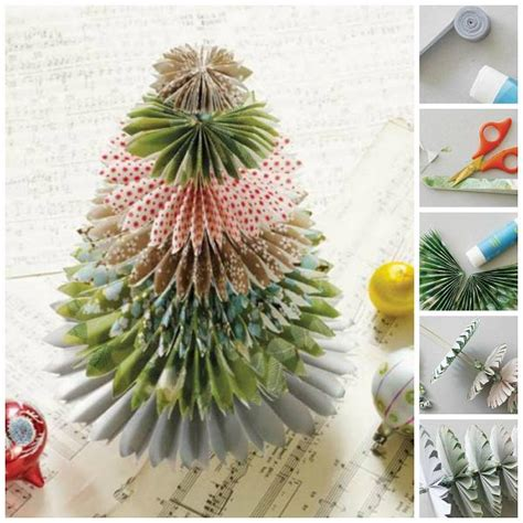 how to make christmas tree decorations at home mini japanese paper christmas tree diy cozy home