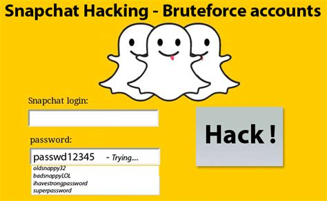 how to hack someones snapchat account snapchat hack snapchat user accounts vulnerable to brute force attack