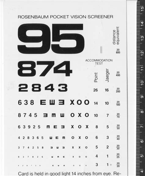 printable eye chart 20 15 free printable rosenbaum eye chart decorativestyle org