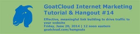 tutorial on online advertising internet marketing tutorial 14 essential seo link building
