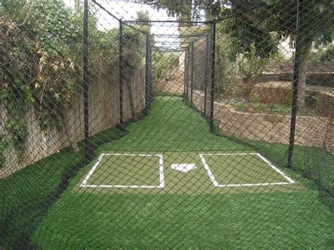 Backyard Net by Dallas Batting Cages Sport Court 174 Dallas
