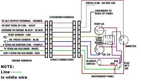 4 in 1 tachometer wiring diagram auto meter tachometer