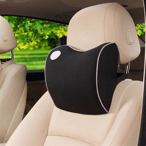 headrest for car seat to window car seat headrest pad memory foam travel pillow neck