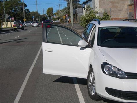 Door Of Car by Newcastle City Cycling Strategy Rejects Car Door Lanes