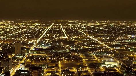city of chicago light chicago traffic city lights lapse