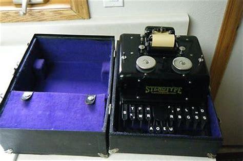 infinity steno machine antique universal stenotype machine dated 1911