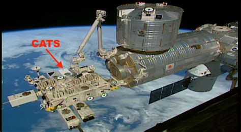 Nasa Space Pictures by Cloud Aerosol Transport System Cats