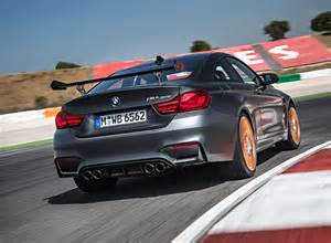 bmw m4 gts 2016 officially the fastest bmw road car