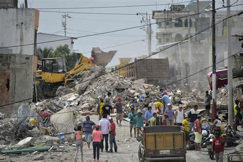 imagenes fuertes terremoto ecuador i morti per il terremoto in ecuador sono pi 249 di 400 il post