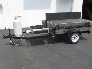 trailer gas grill 6 and 8 foot gas grill on trailer
