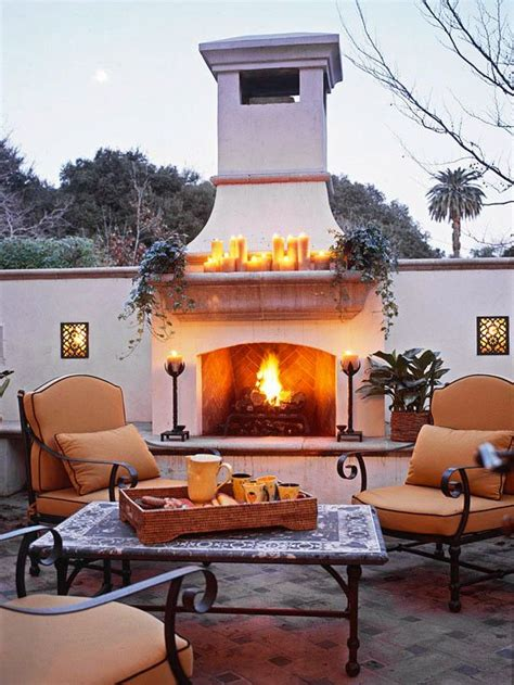 amazing outdoor living spaces amazing outdoor fireplace designs part 3 style estate