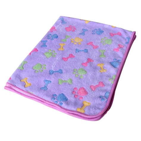 Paw Mat by Puppy Blanket Fleece Towel Pet Cushion Mat Cat Kitten