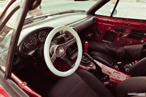 mazda roadster interior mazda miata slammed on ssr mkii jdmeuro com