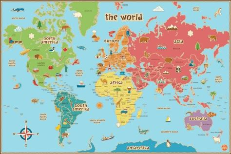 Best Quality Map A4 Bunga Murah 37 eye catching world map posters you should hang on your walls brilliant maps
