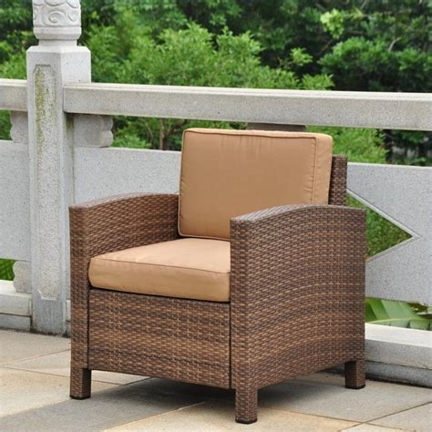 brown patio furniture outdoor patio chair in antique brown and coffee 4250 1ch