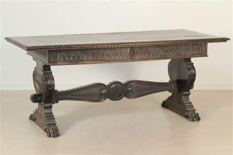 tavolo medievale di mano in mano tavolo neorinascimento