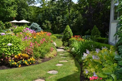 vibrant garden backyard traditional landscape other