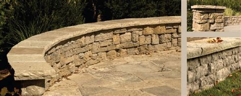 rosetta stone walls rosetta dimensional coping retaining walls paving