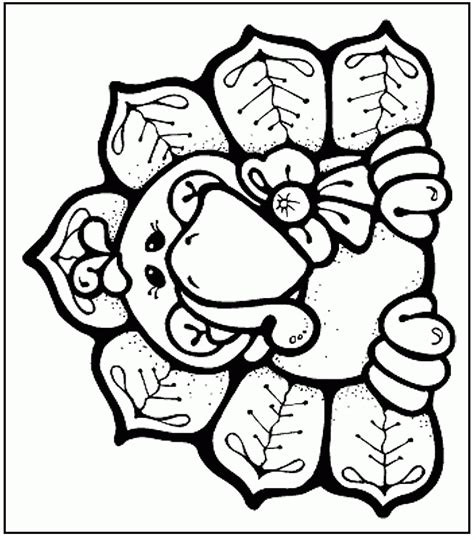Cute Coloring Pages Of Turkeys | cute turkey coloring pages coloring home