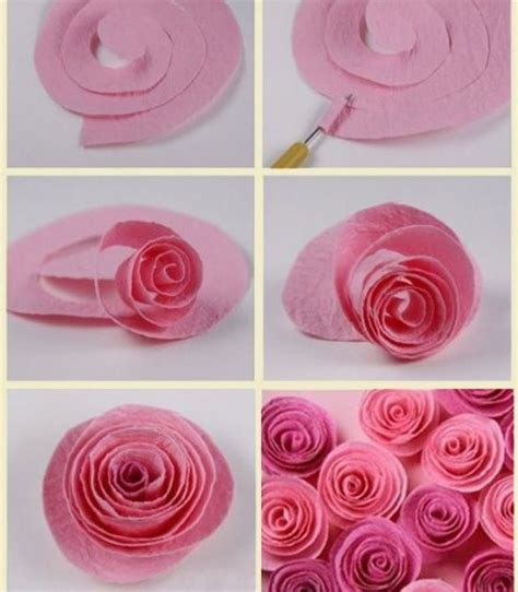 Simple Flower With Paper - pin by krista richards on diy paper