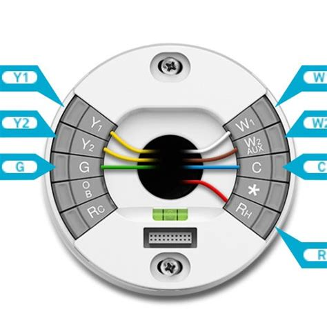 nest thermostat wire diagram on nest wirning diagrams