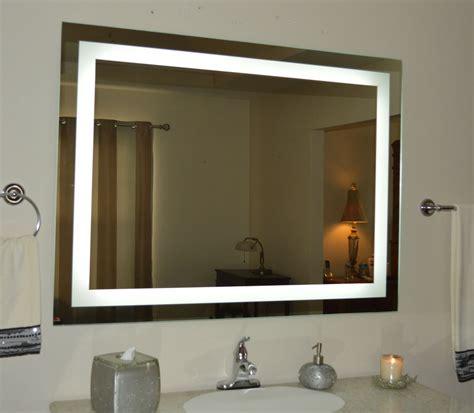 Led Lights Bathroom Mirror - lighted bathroom vanity mirror led wall mounted 48