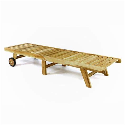 lettini da terrazzo lettino prendisole pieghevole in legno teak per giardino e