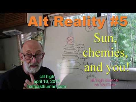 Briefly Some Bitching by Clif High Welcome To Alt Reality 5 Sun Chemies And