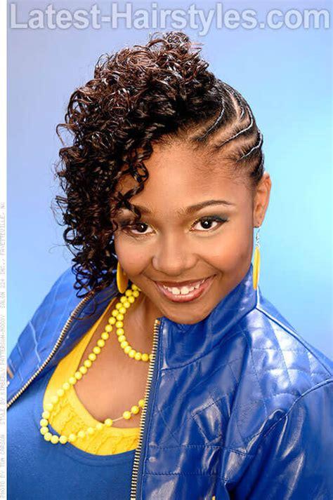 black prom hairstyles on black twist hairstyles 20 amazing prom hairstyles for black and