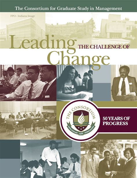 Challenge Of Change leading the challenge of change the consortium
