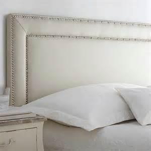 belmont ivory faux leather headboard by kaleidoscope grattan